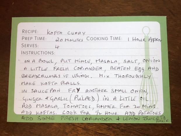 Kofta Curry Recipe Mums 2